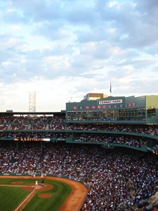 Photo of Fenway, looking at the plate