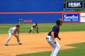 Photo of third base