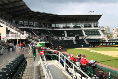 Photo of Harrisburg ballpark