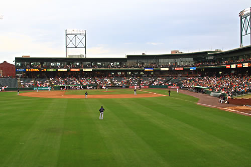Photo of Lancaster ballpark