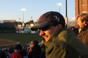 Happy Dad at Hadlock Field