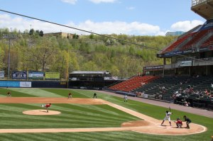 Photo of game at Scranton